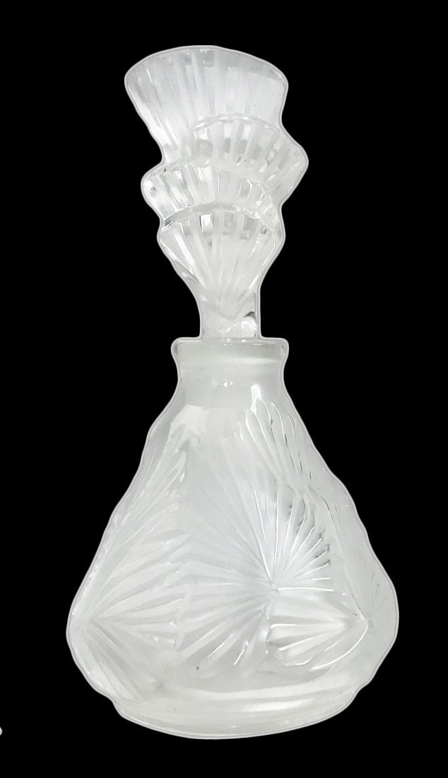 LALIQUE FRANCE 20TH CENTURY, PERFUME BOTTLE