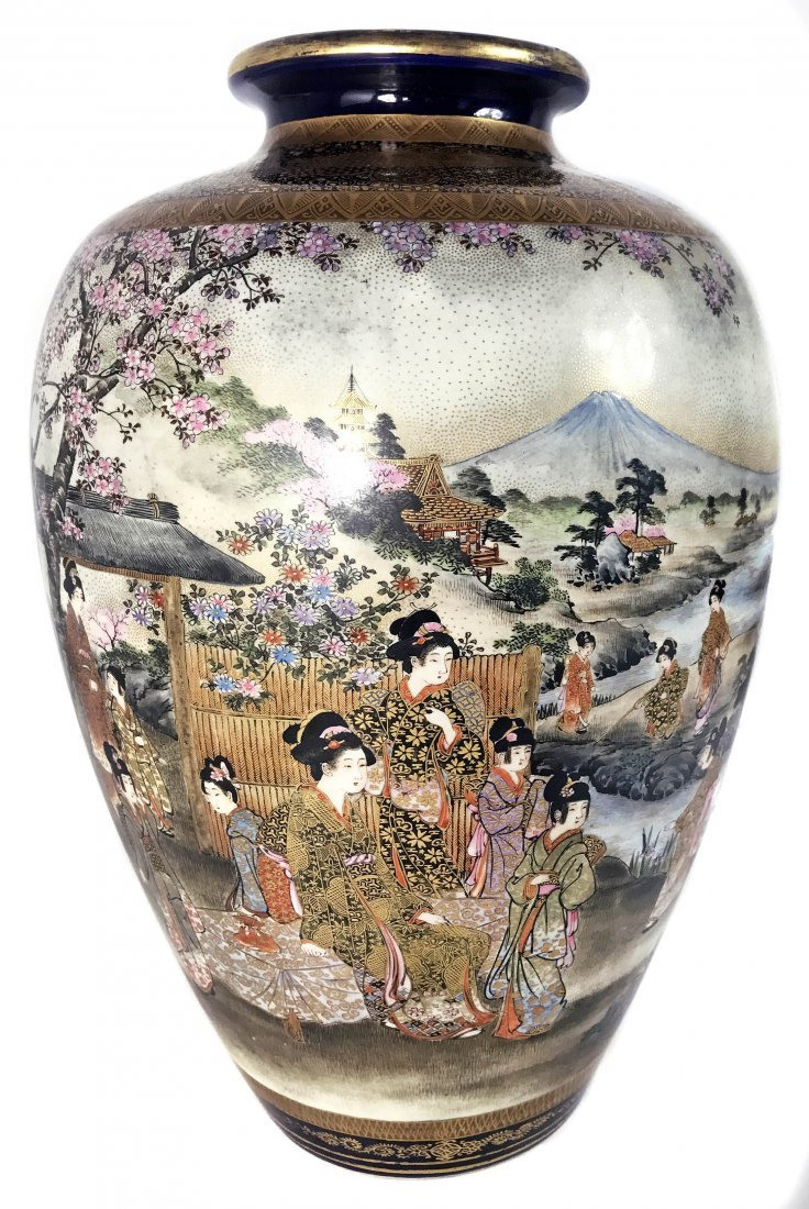 Satsuma vase by shuzanmeiji period 1868 1912 japanese satsuma vase by shuzanmeiji period 1868 1912 reviewsmspy