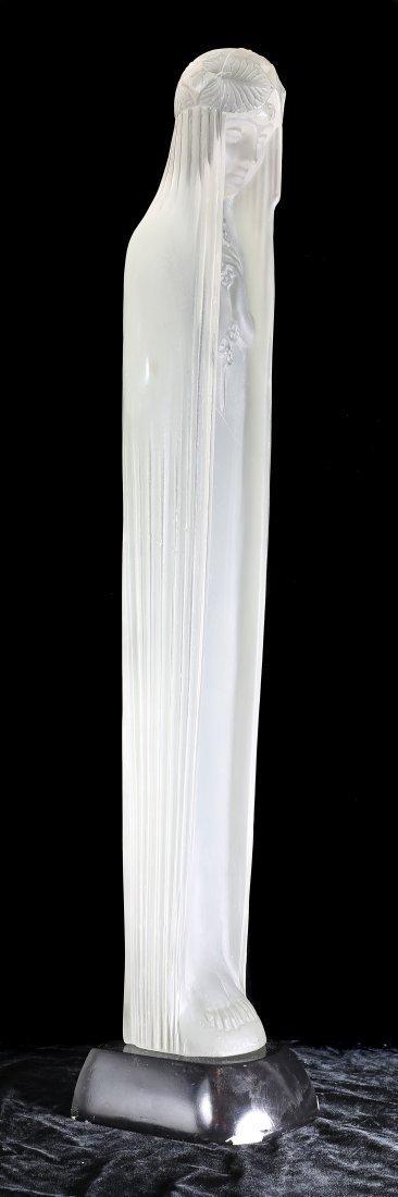 RENE LALIQUE (1860-1945) 'SOURCE DE LA FONTAINE CALYPSO - 2