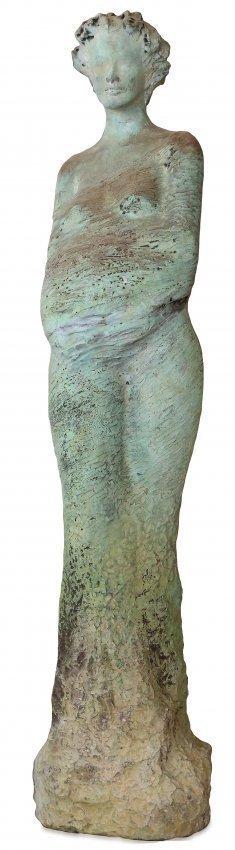 JEAN-PHILLIP RICHARD, (b.1946 ) LARGE BRONZE FIGURE