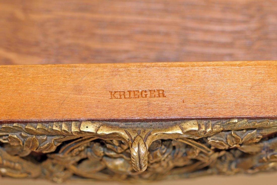 ANTOINE KRIEGER  BEDSIDE CABINET    1913-1916, SIGNED - 2