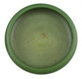 MELON SKIN PORCELAIN BRONZE FORM BOWL - 2