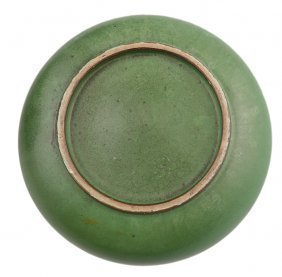 MELON SKIN PORCELAIN BRONZE FORM BOWL - 4