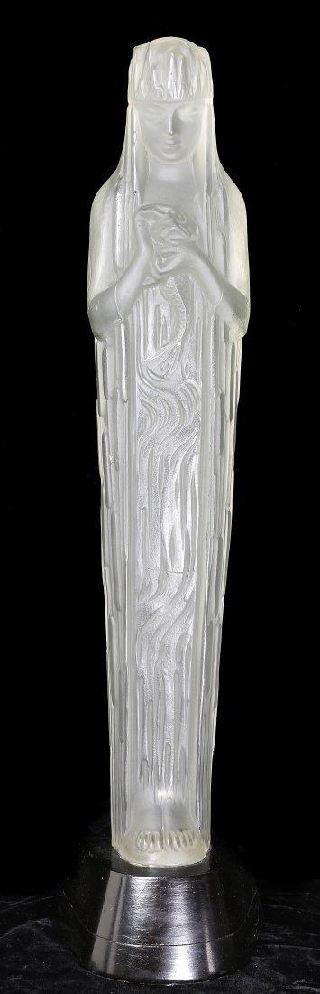 RENE LALIQUE (1860-1945)'SOURCE DE LA FONTAINE DORIS'