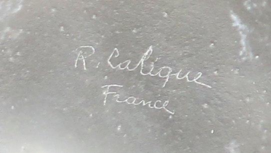 RENE LALIQUE (1860-1945) 'QUATRE GROUPES DE LEZARDS' - 4