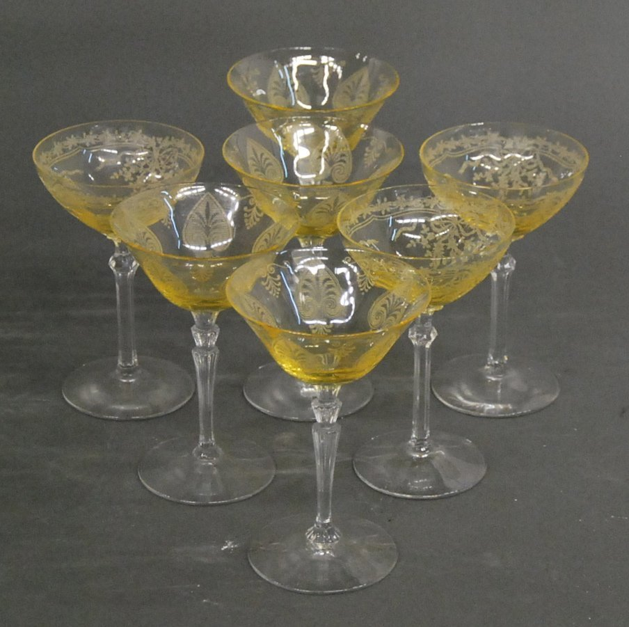 ASSORTED GLASS STEMWARE - 3