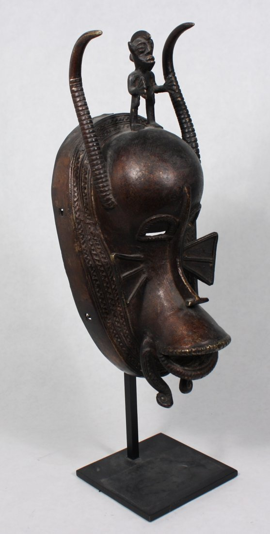 STYLE OF SENUFO PEOPLE COTE D'IVOIRE