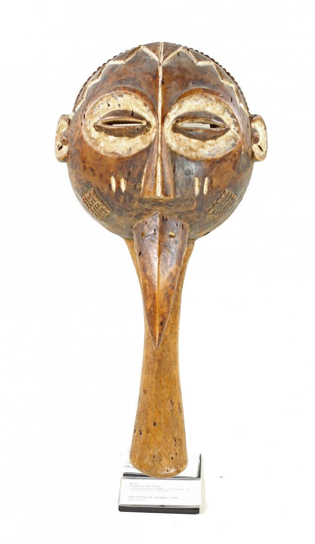 STYLE OF CEREMONIAL DANCE MASK