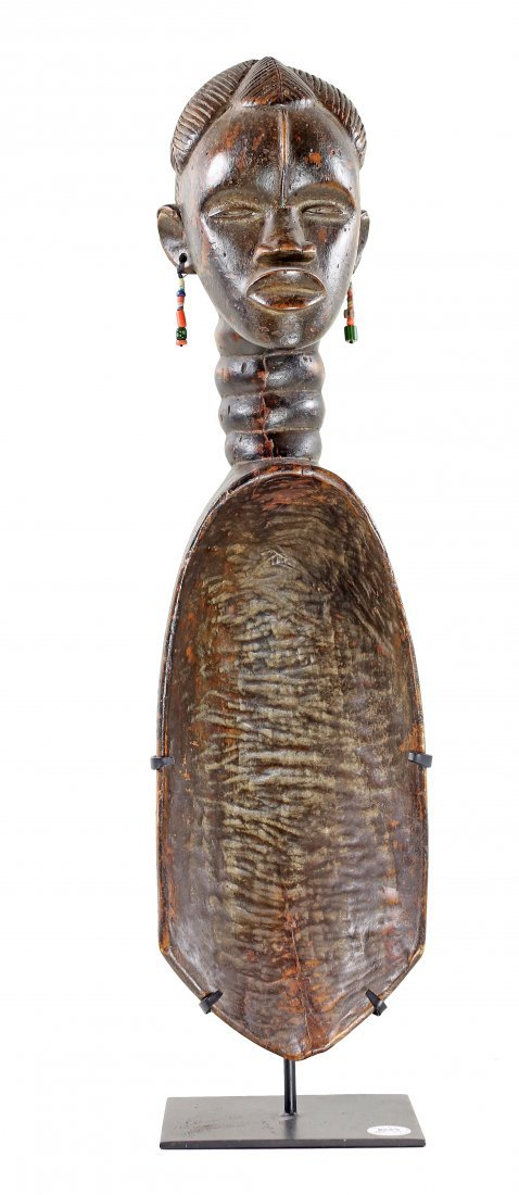 STYLE OF CEREMONIAL SPOON - WOOD