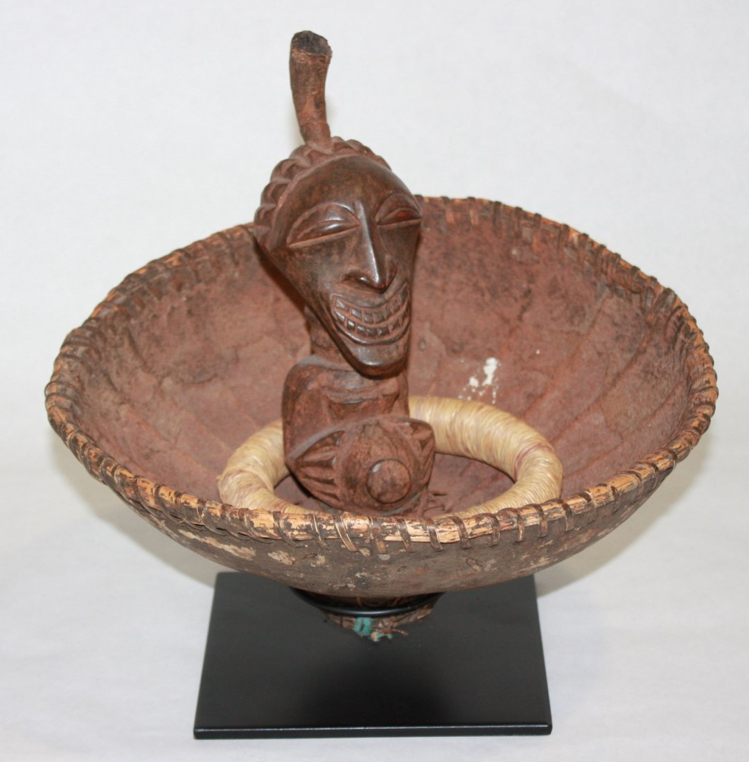STYLE OF SONGYE PEOPLE DIVINER'S CALABASH