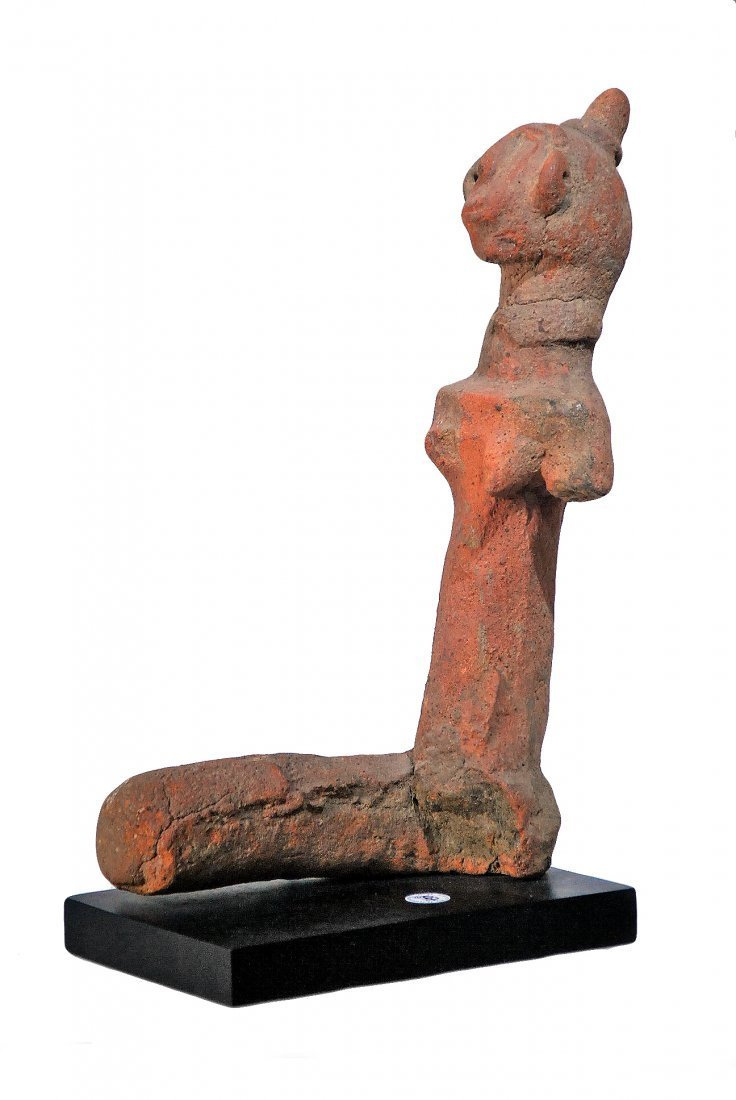 CEREMONIAL FEMALE ANCESTRAL FIGURE TERRA COTTA