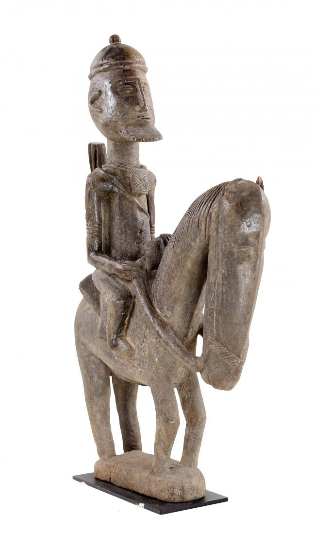 STYLE OF PEOPLE DOGON MALI HORSE AND RIDER