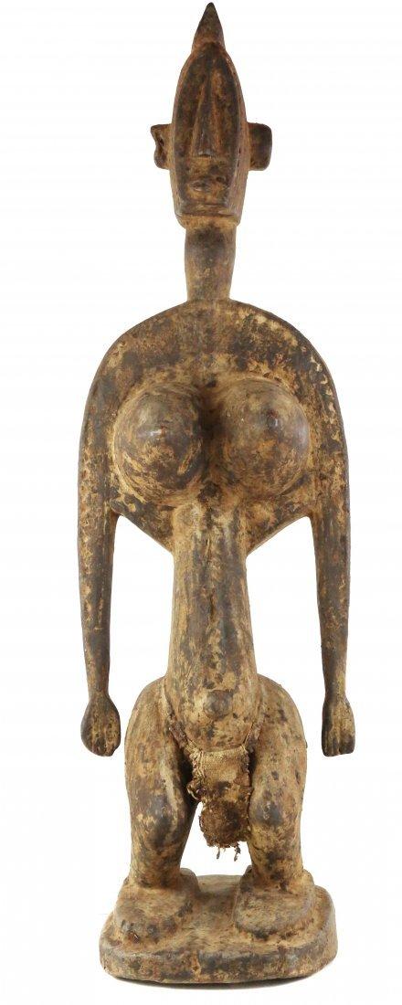 STYLE OF GWAN SOCIETY FEMALE ANCESTRAL FIGURE