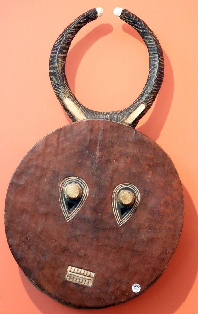 STYLE OF GOLI SOCIETY MASK - CARVED WOOD
