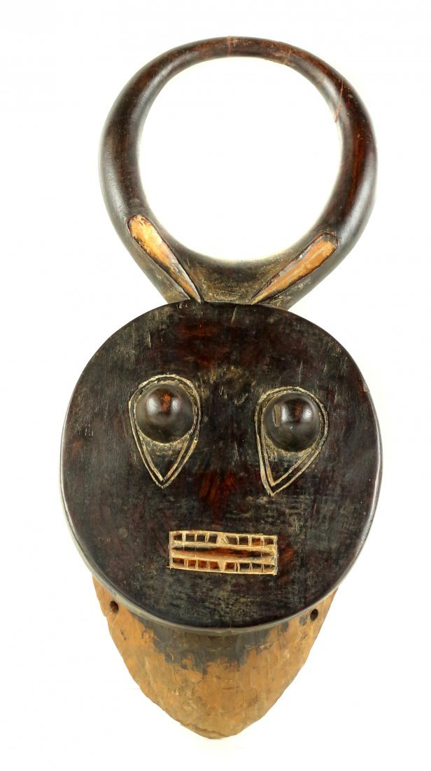 STYLE OF GOLI SOCIETY CEREMONIAL DANCE MASK CARVED WOOD