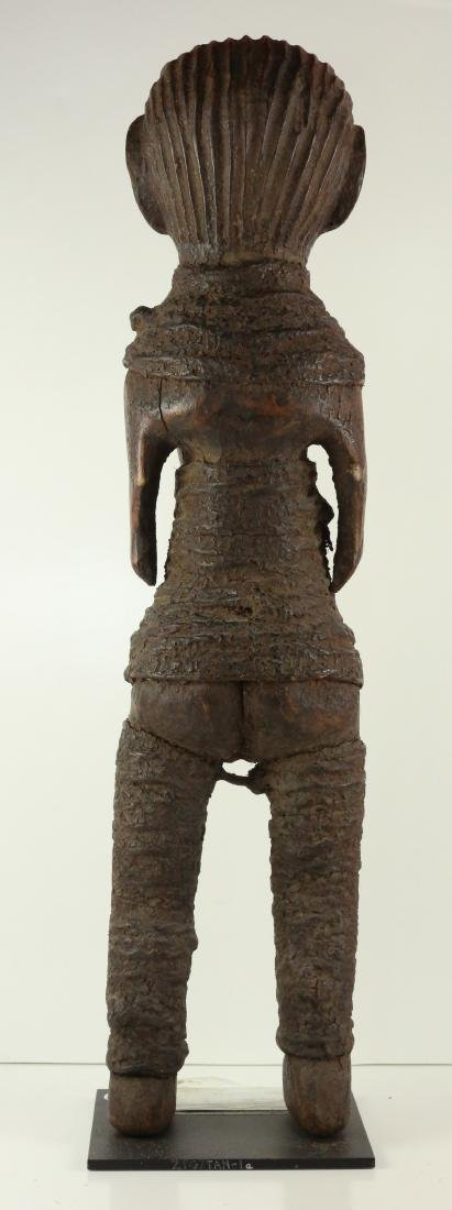 STYLE OF FEMALE ANCESTRAL FIGURE - CARVED WOOD - 3