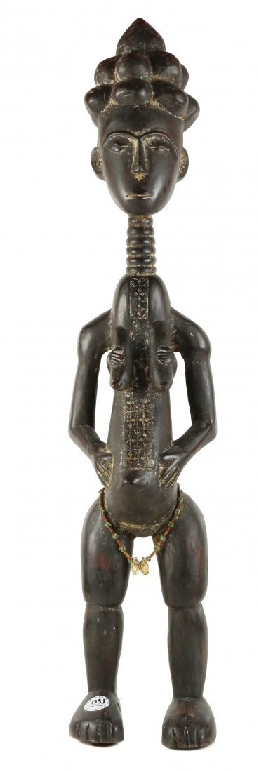 STYLE OF FERTILITY FIGURE - CARVED WOOD