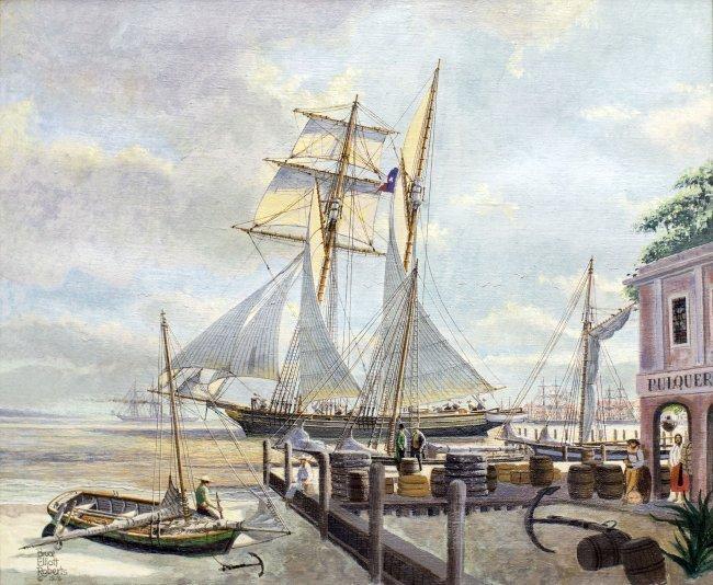 BRUCE ELLIOT ROBERTS (AMERICAN B.1910)
