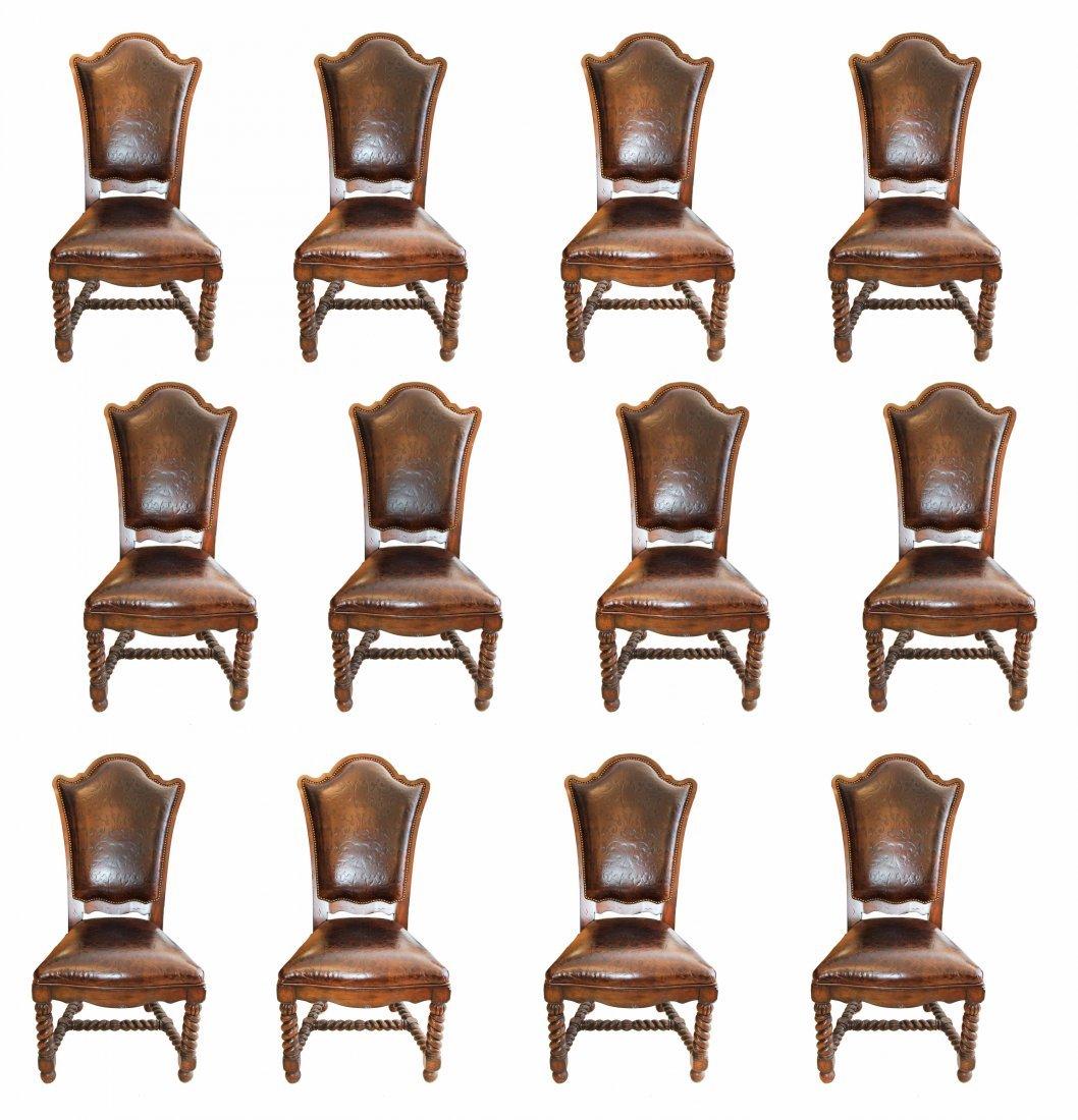 Property of Mar A Lago , Palm Beach Twelve Chairs