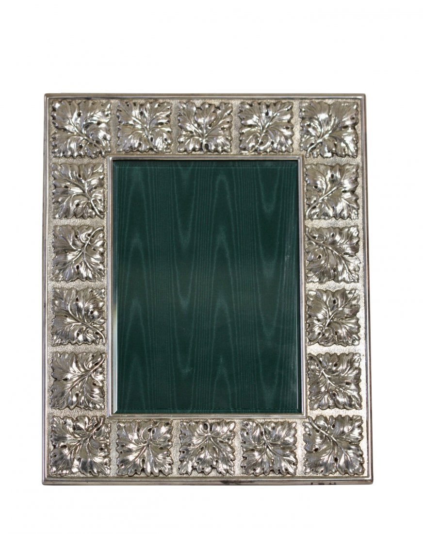 BUCCELLATI, An Italian Sterling Silver  picture frame