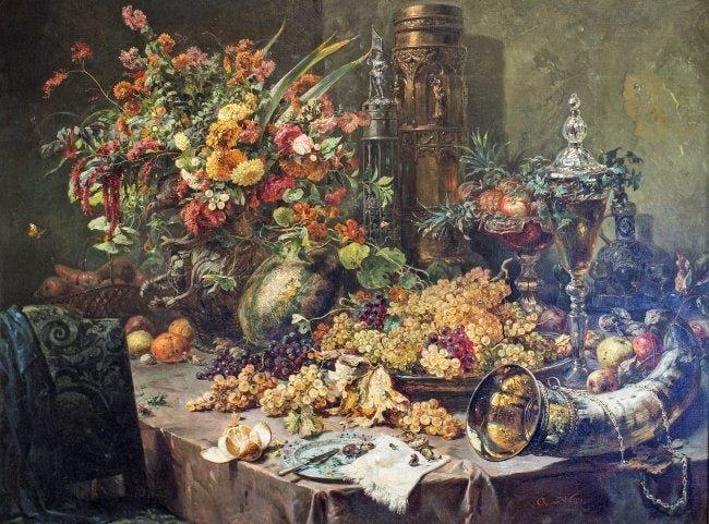August VON WILLE (1829-1887) Oil on canvas