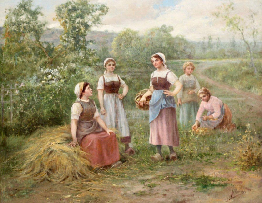 José Maria JARDINES (1862-c.1920) Oil on canvas