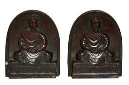 Pair of Tiffany  Co Bookends