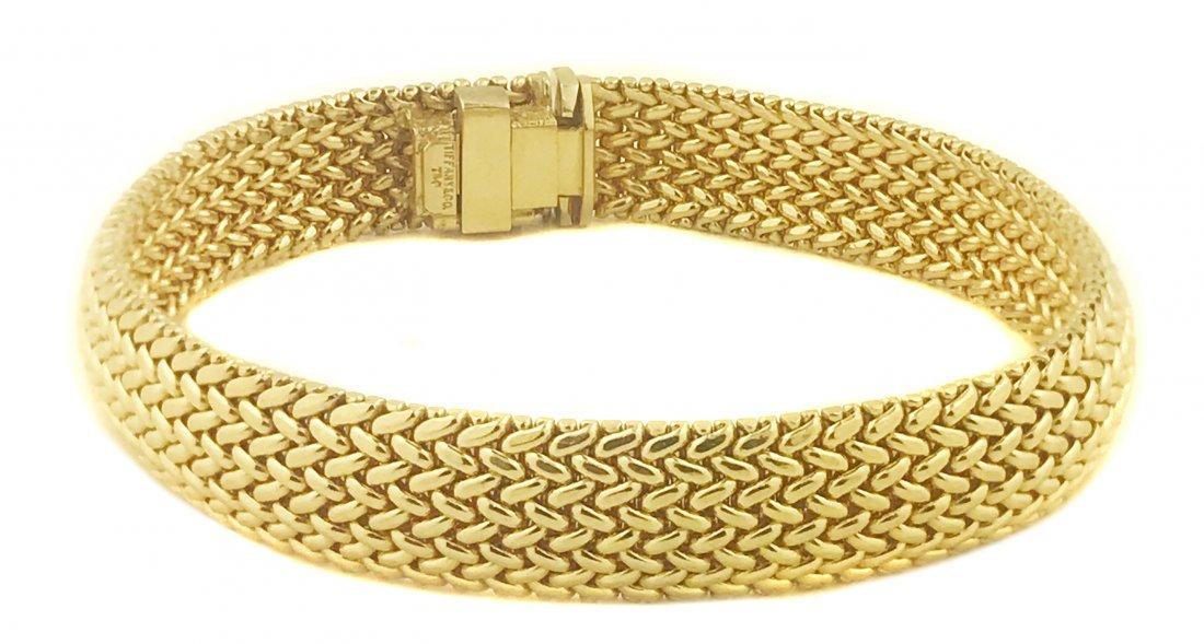 TIFFANY & CO.,18 Karat Gold Bracelet
