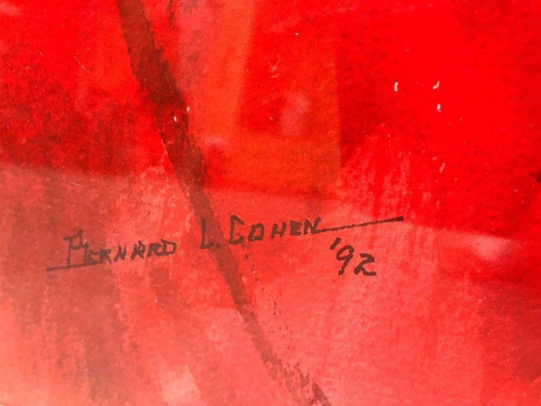 BERNARD COHEN, (American), watercolor on paper - 4