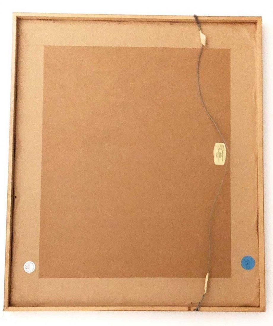 BERNARD L. COHEN, (American), watercolor on paper - 2