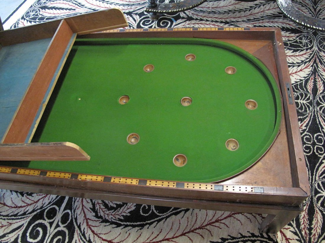 Victorian Bagatelle Game Table, 19th Century - 5