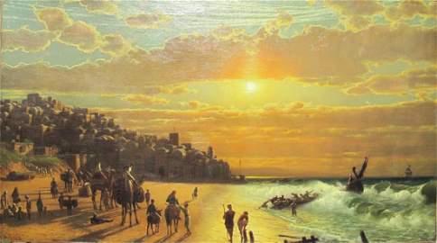 James FAIRMAN (1826-1904) oil on canvas