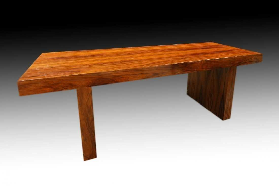 AN ART DECO STYLE DINING TABLE, MODERN