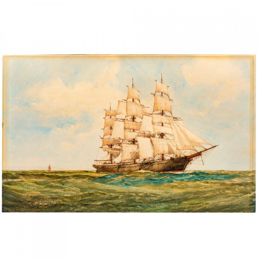 Montague J. Dawson (1895-1973), Fine Painting