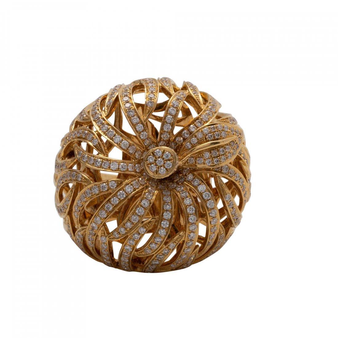 Diamond and Diamond Ring - 2