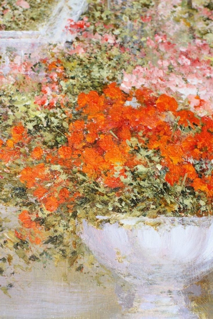 Lucia Sart (1950) Oil on Canvas Amalfi, Italy - 4