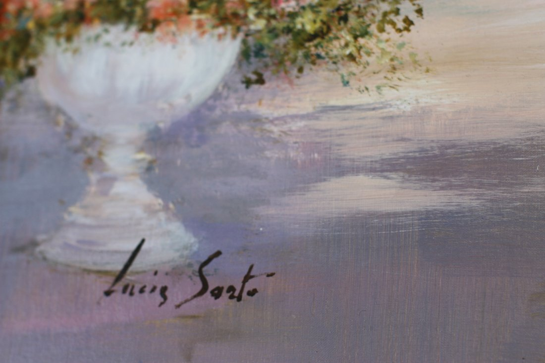 Lucia Sart (1950) Oil on Canvas Amalfi, Italy - 5
