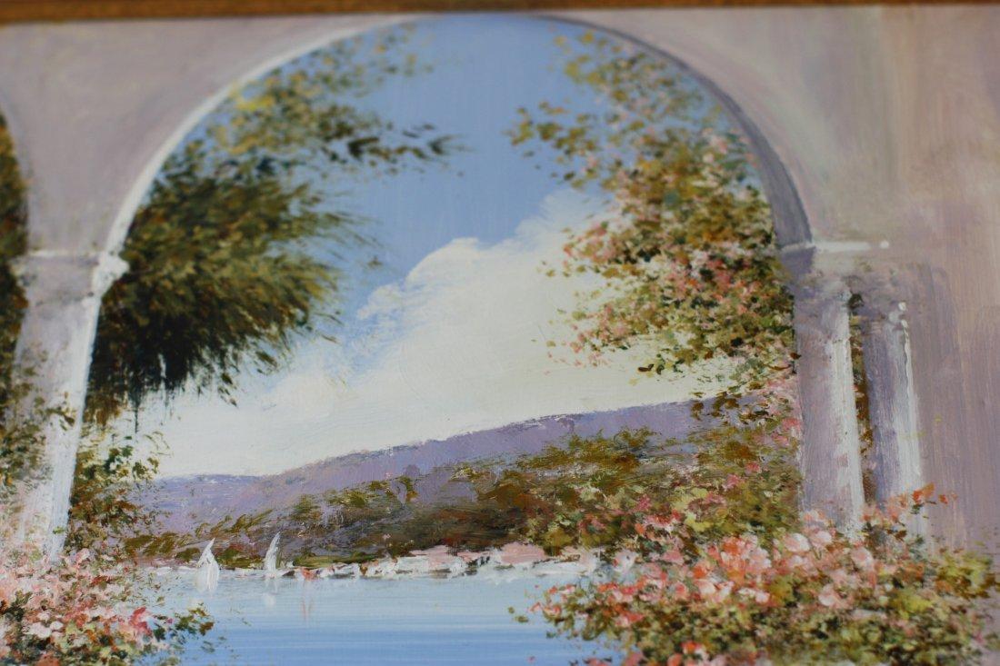 Lucia Sart (1950) Oil on Canvas Amalfi, Italy - 8