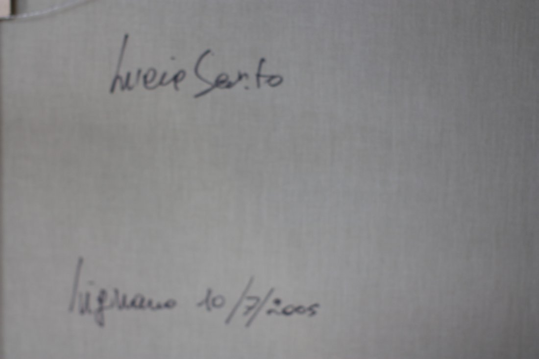 Lucia Sart (1950) Oil on Canvas Amalfi, Italy - 9