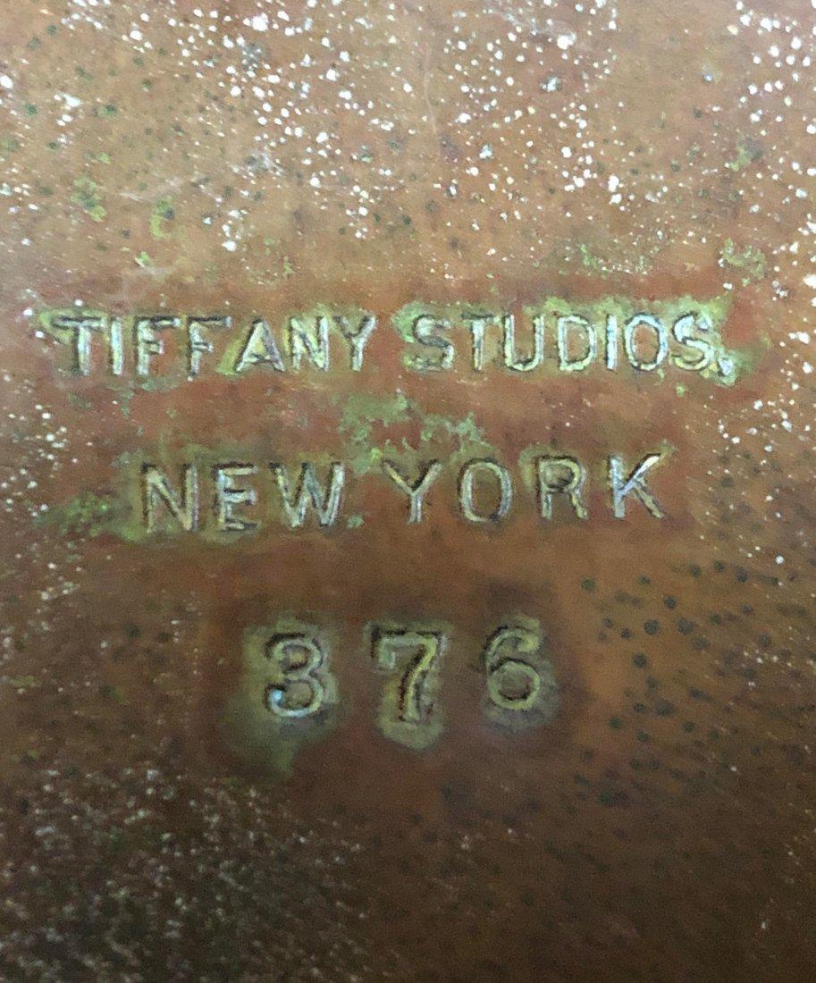 Very Fine Tiffany Curtain Border Floor Lamp - 5