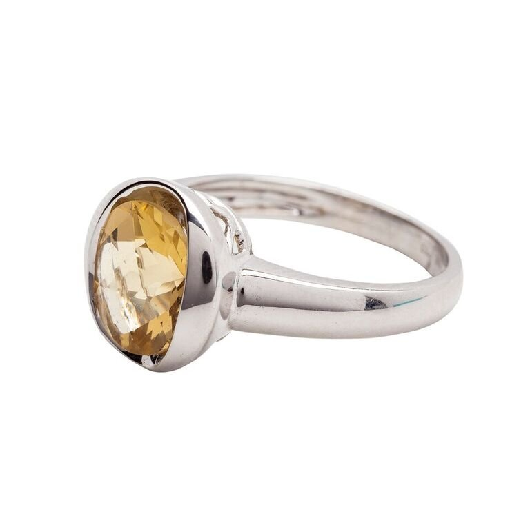 Gold and Citrine Ring - 2