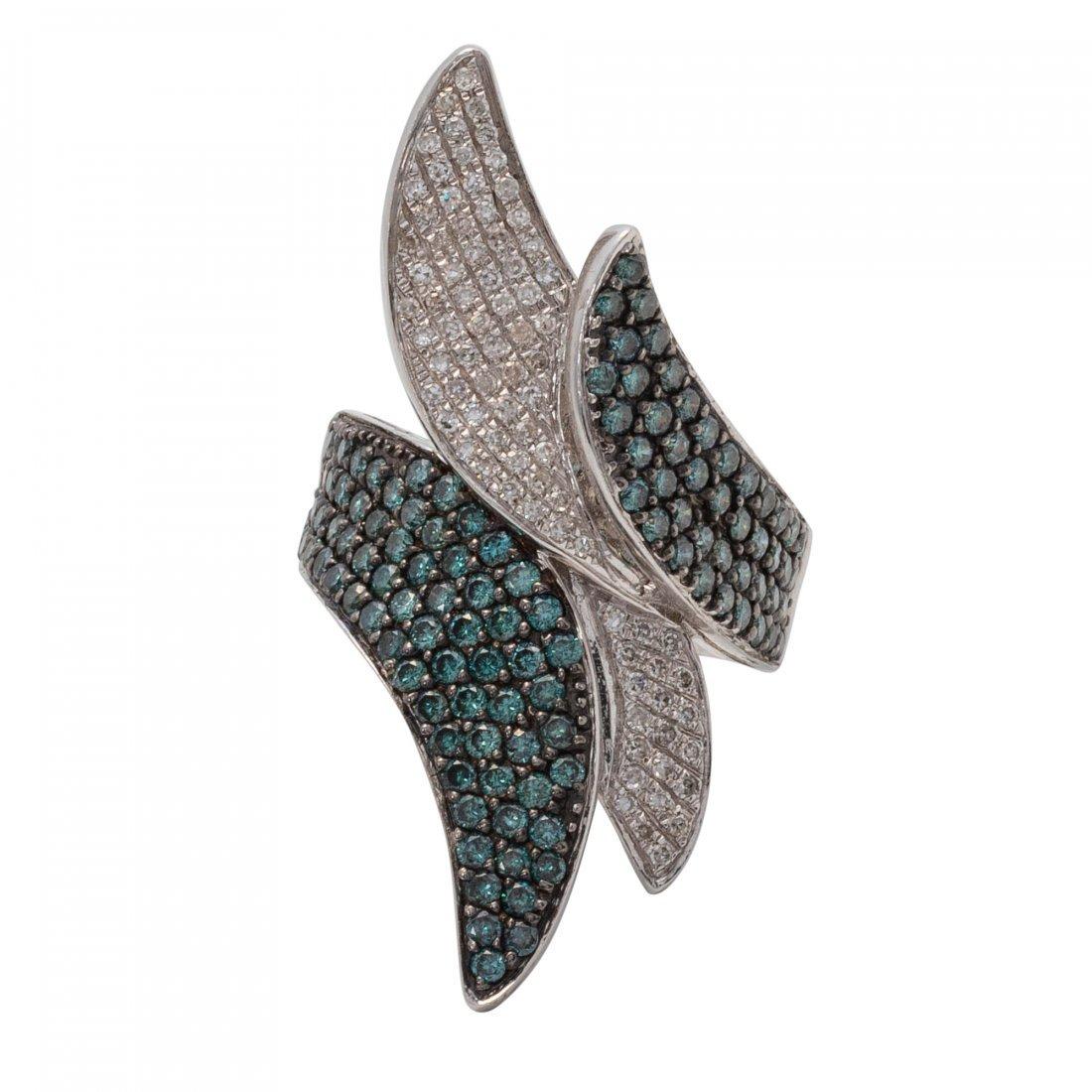 Diamond and Diamond Ring
