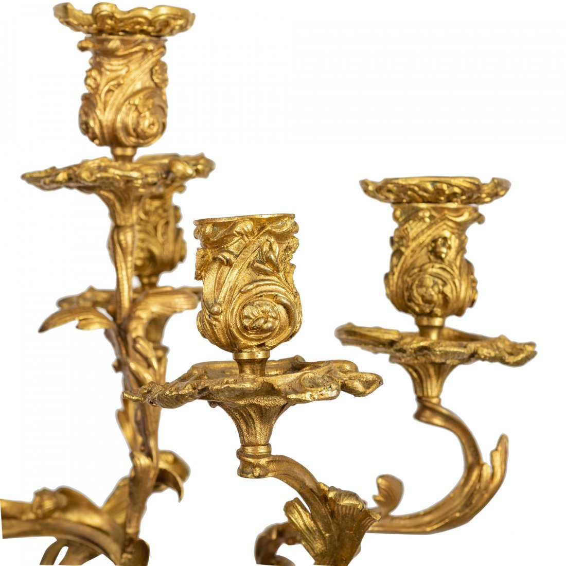 Large and Fine Pair of 19th Century Candelabra - 4
