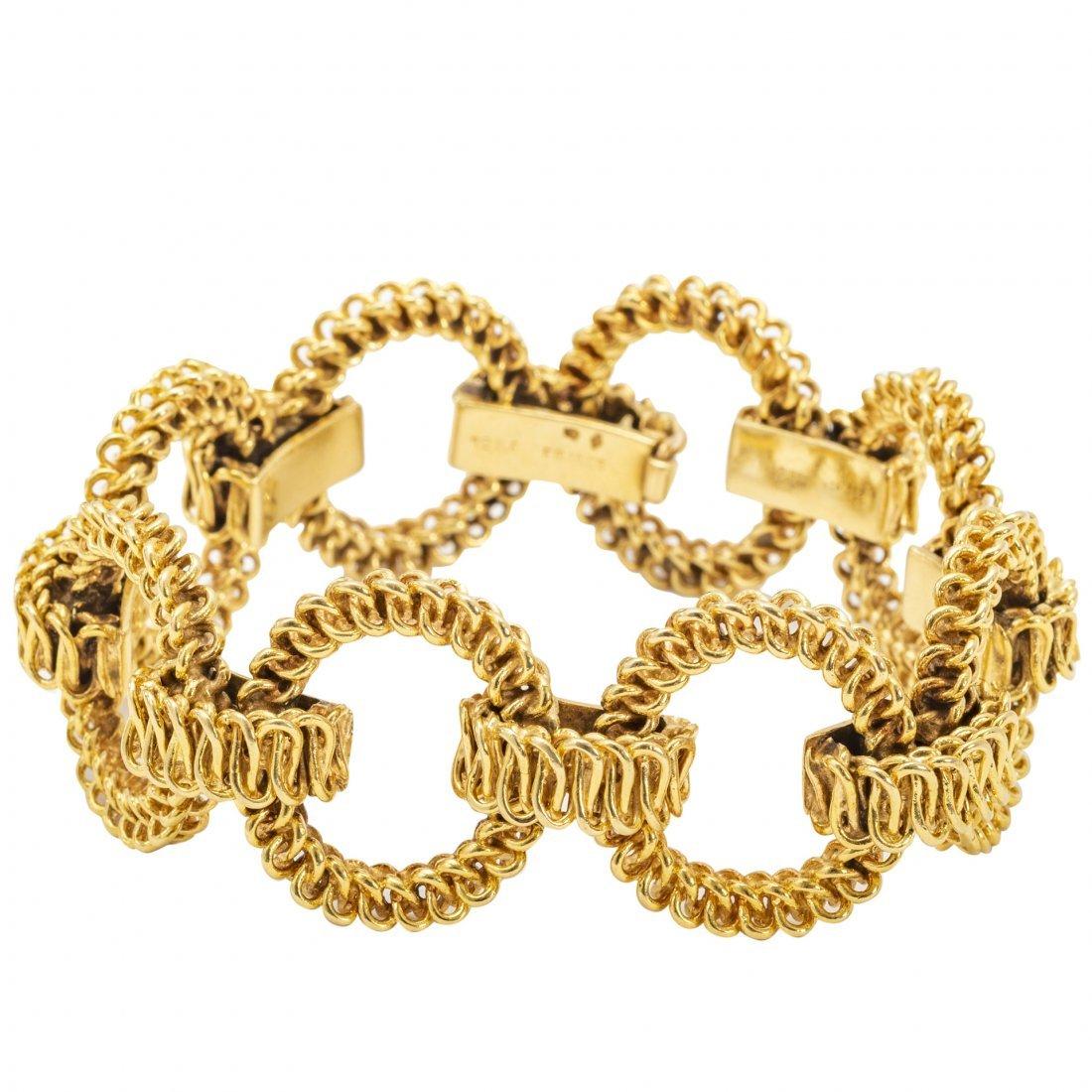 Tiffany & Co., 18kt Yellow Gold Bracelet
