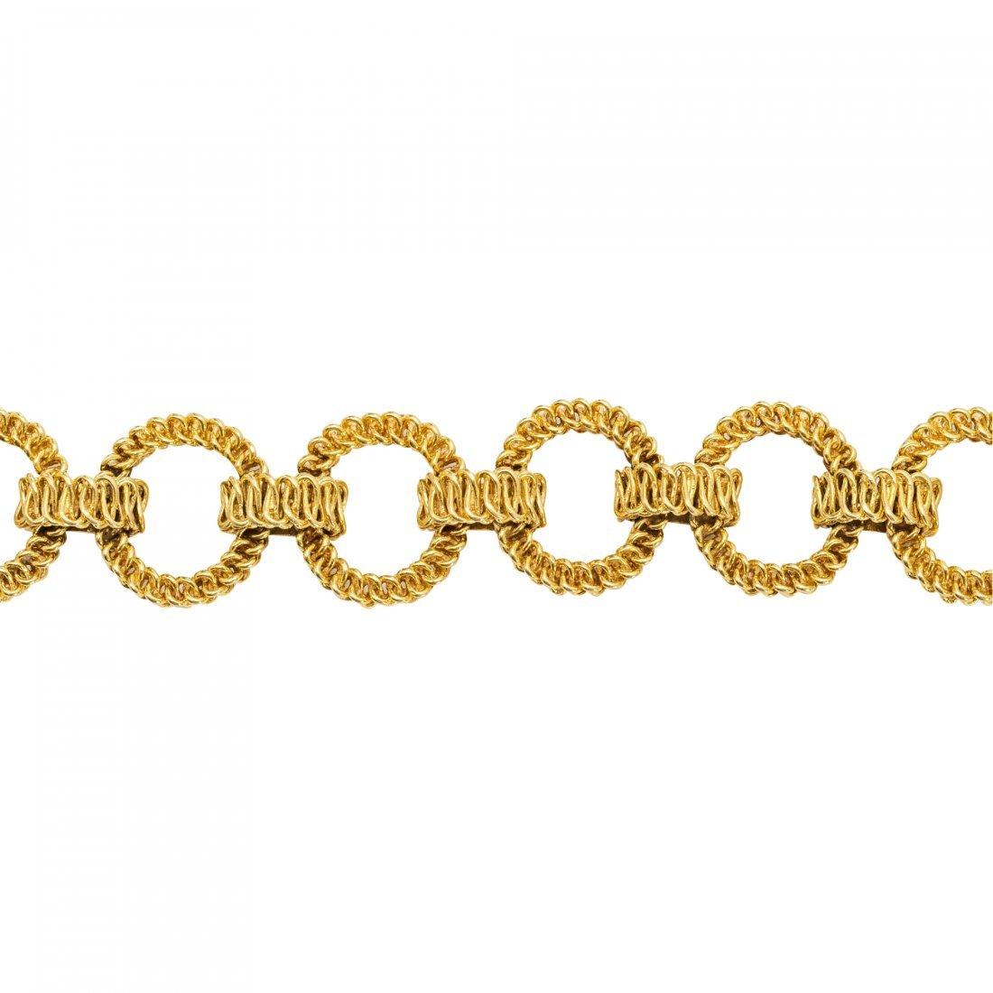 Tiffany & Co., 18kt Yellow Gold Bracelet - 2
