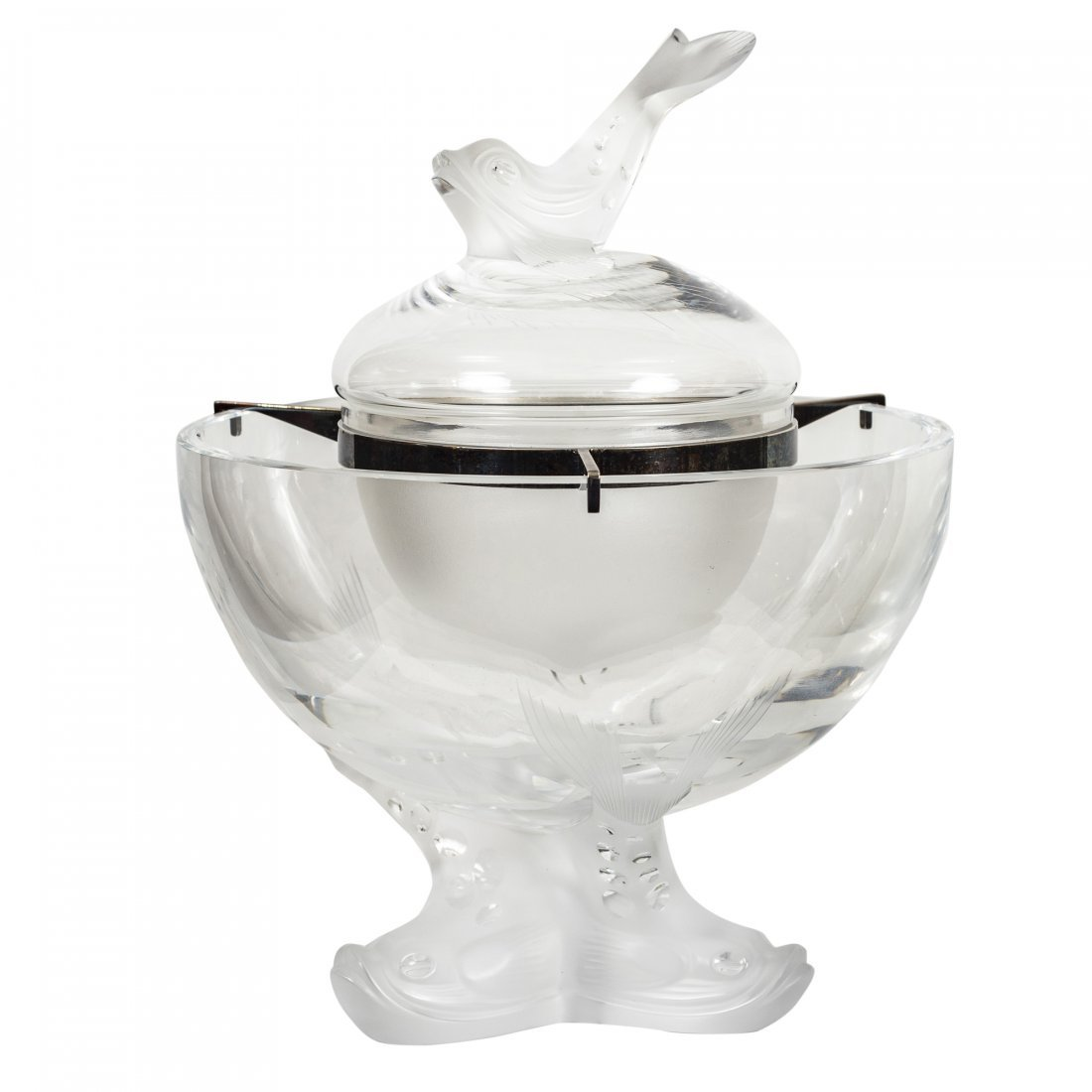 Lalique Clear Crystal Igor Coupe
