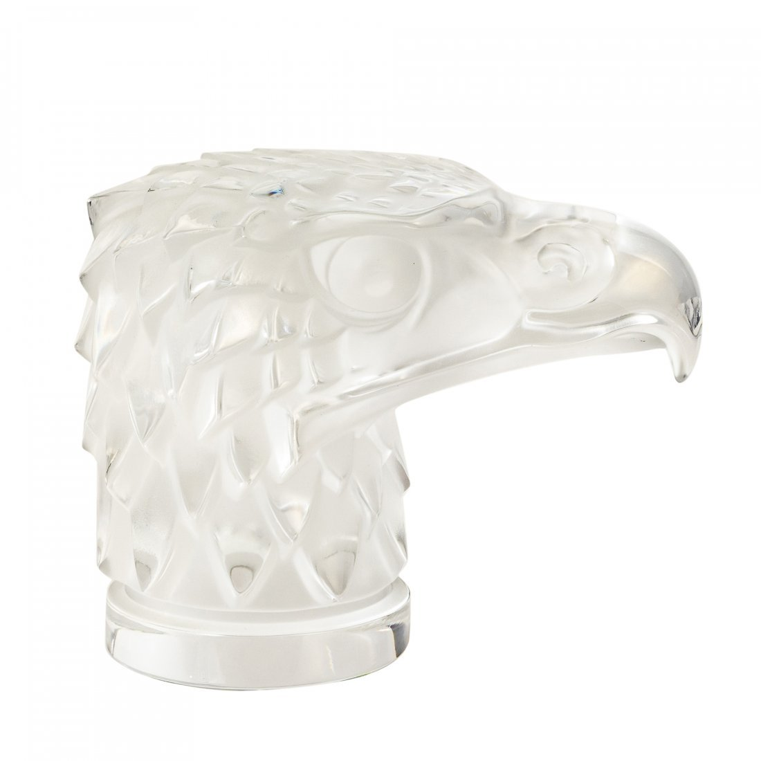 "Lalique - Paris, France (Modern) ""Eagle Head"" Crystal"