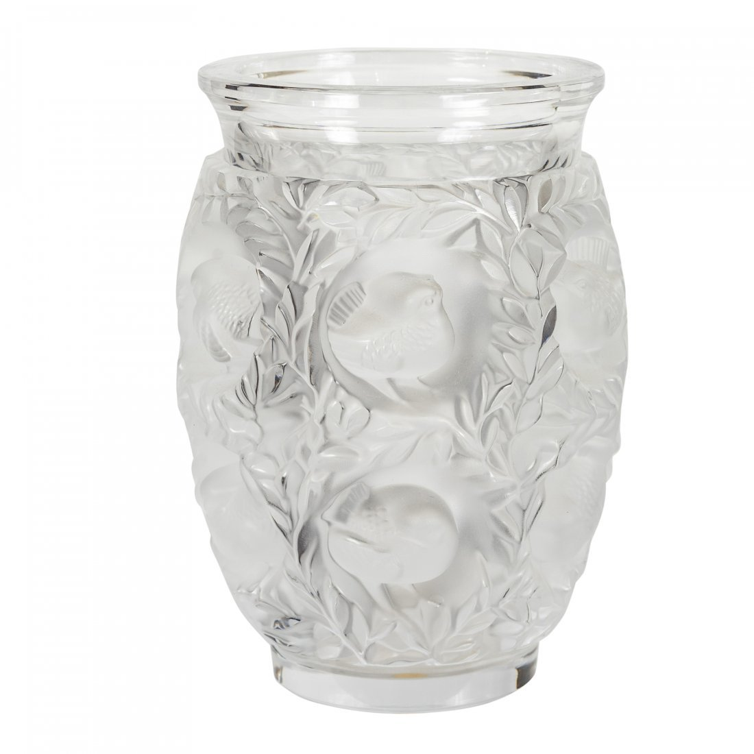 "Lalique - Paris, France (Modern) ""Bagatelle"" Vase"