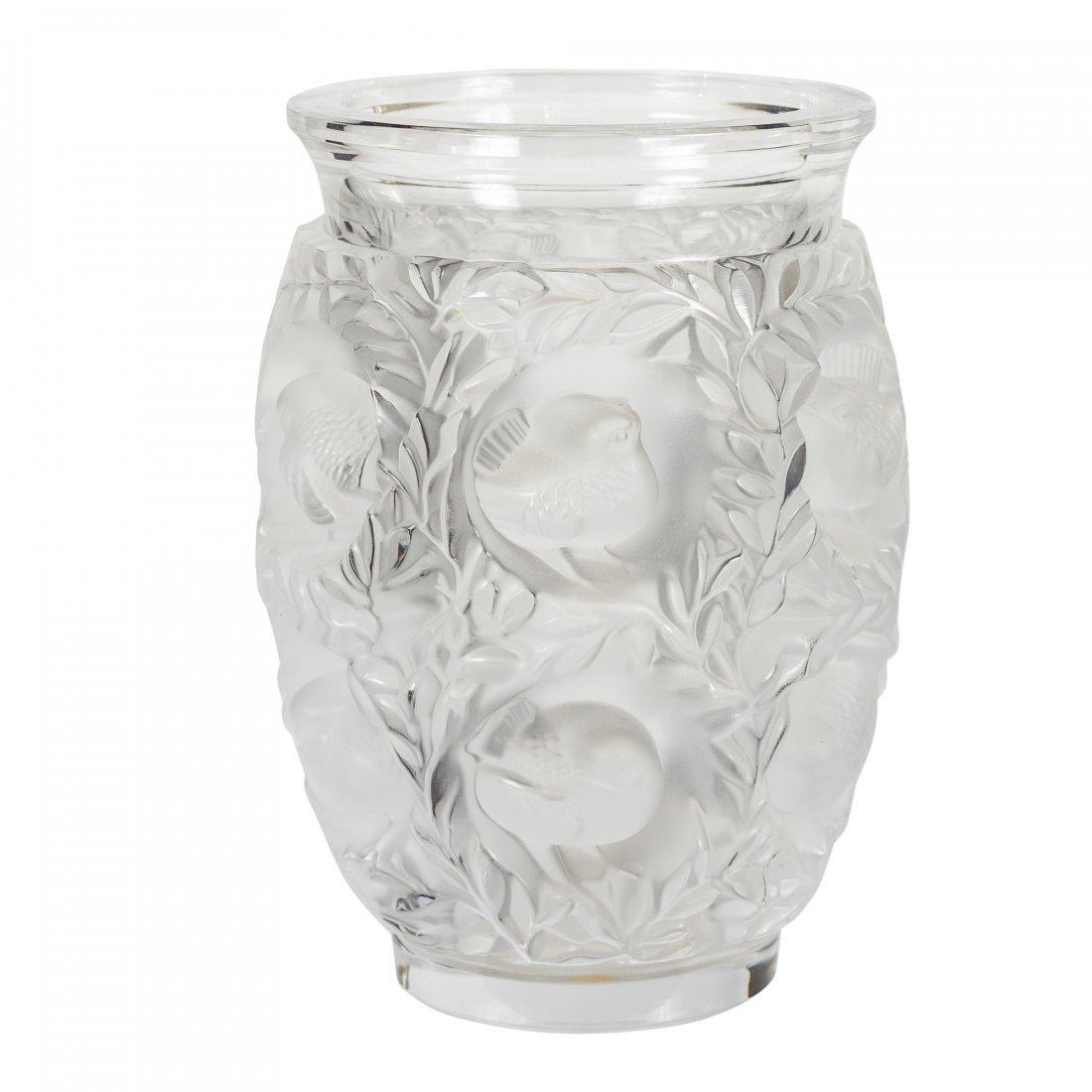 """Lalique - Paris, France (Modern) """"Bagatelle"""" Vase"""