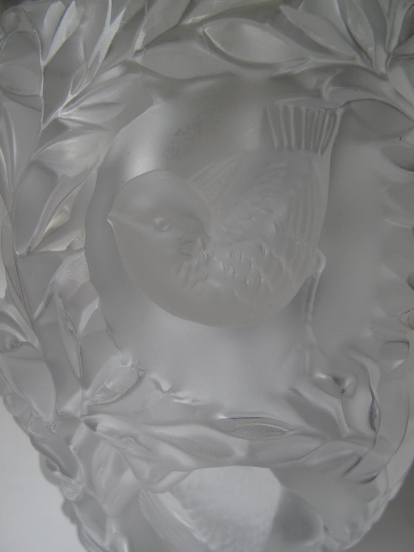 "Lalique - Paris, France (Modern) ""Bagatelle"" Vase - 2"